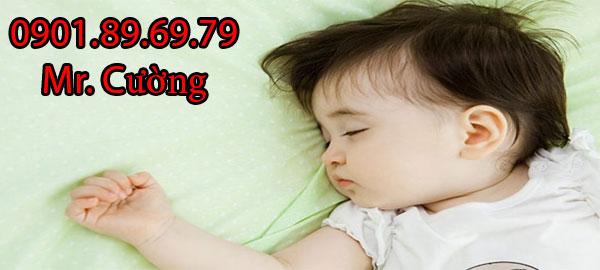 máy làm mát không khí giúp bé ngủ ngon
